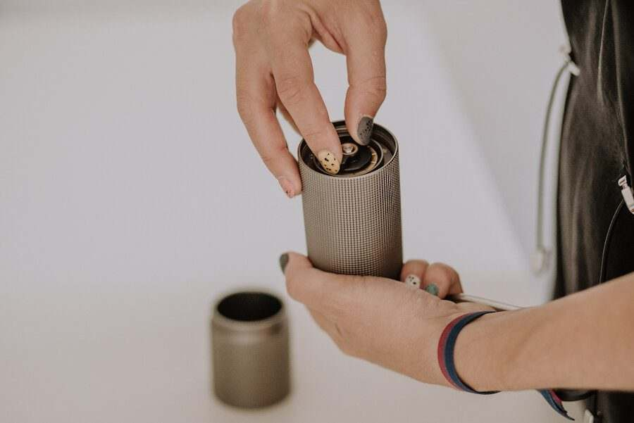 molinillo manual de cafe